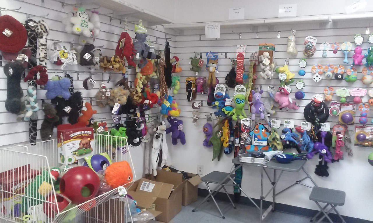 Inside my pet grooming shop, Pet Toys 7