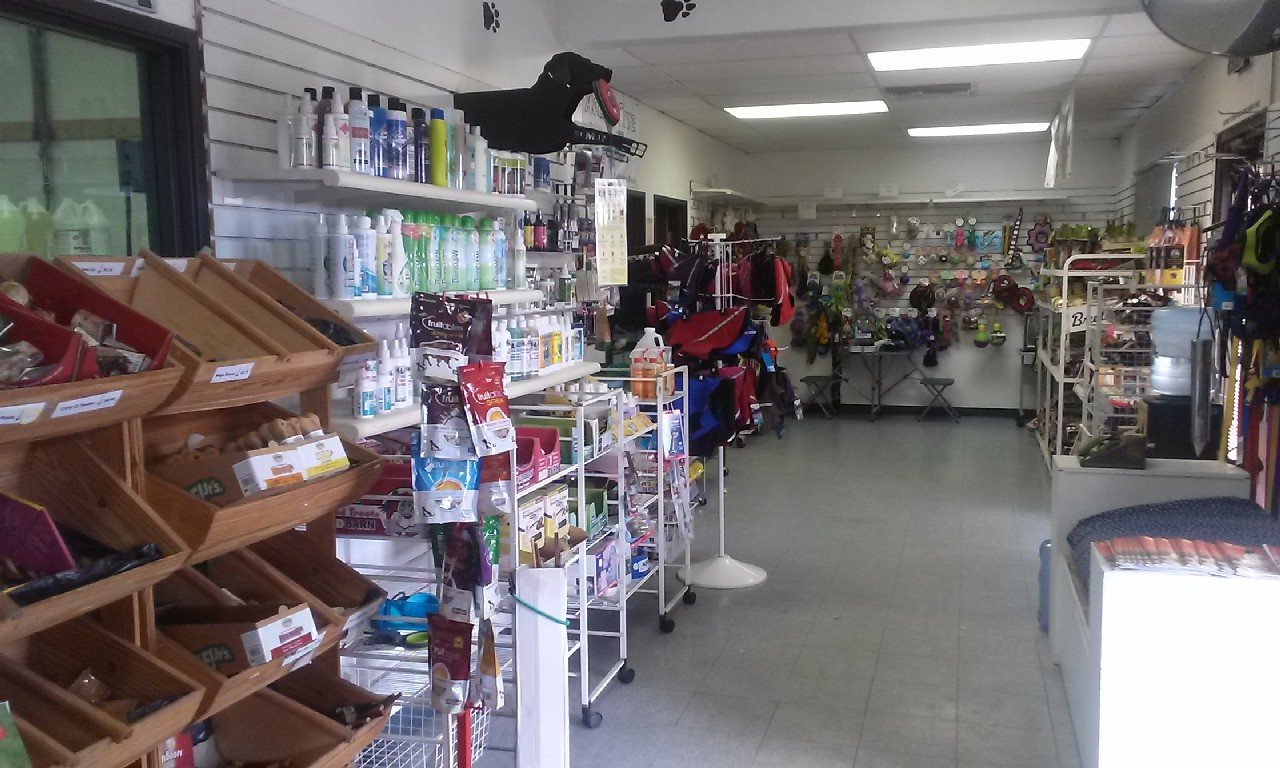 Inside my pet grooming shop, Pet Supplies at Ace Grooming by Sara 22